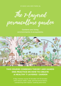 7-layered permaculture garden