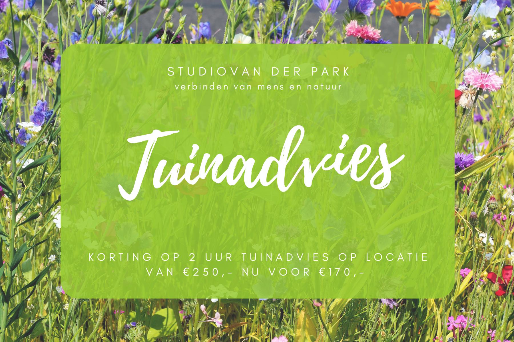 Je Gezonde Tuin Advies Studio van der Park