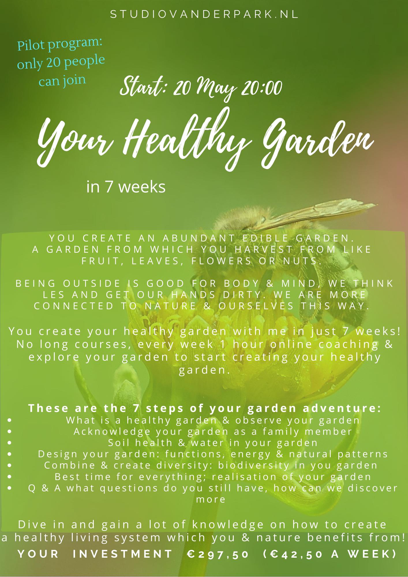Your healthy garden